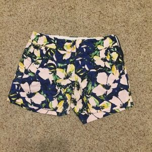 Size OO JCrew Floral Shorts